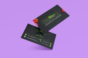 כרטיס ביקור מיל מן: מיתוג עסקי